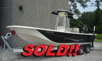 2014 CAROLINA SKIFF 238 BLACK 001b