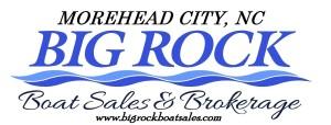 big rock boat sales letterhead magnet