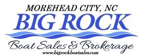 big rock boat sales letterhead magnet